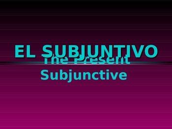 Subjunctive (present)