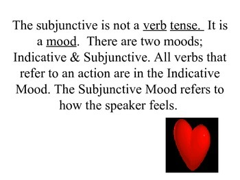 Subjunctive vs Indicative