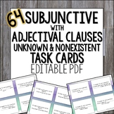 Spanish Subjunctive with Adjective Clauses, Unknown, Nonex