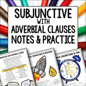 Spanish Subjunctive with Adverbial Clauses - Conjunctions