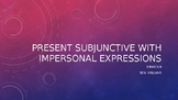 Subjunctive with Impersonal Expressions
