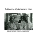 Subjunctive worksheet and video