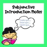 Subjuntivo Introduction / Subjunctive