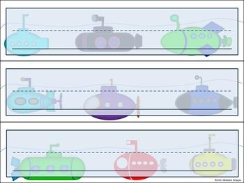 Submarine Name Plates