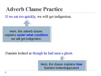 Subordinate Clauses PowerPoint