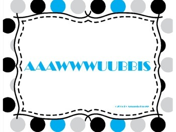Subordinating Conjunctions- AAAWWWUUBBIS Signs