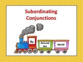 Subordinating Conjunctions Powerpoint (PDF format)