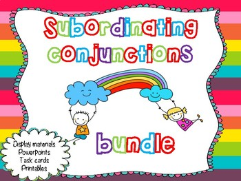 Subordinating conjunction bundle