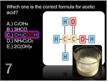 Subscripts, Coefficients, and Balancing Chemical Equations Lesson Quiz