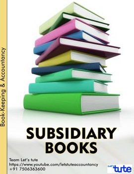 Checking Accounts | Subsidiary Books - Assessments and Worksheets