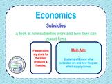 Subsidies - Economics - Microeconomics - Subsidy Pros & Cons