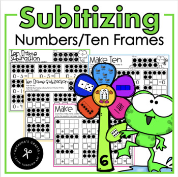Subitizing and Ten Frame Addition/Subtraction