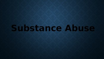 Substance Abuse and 3 Day Road
