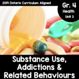 {Grade 4} Substance Use, Addictions, and Related Behaviours Activity Packet