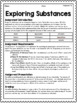 {Grade 6} Substance Use, Addictions and Related Behaviours Activity Packet