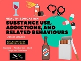 Health - Substance Use, Addictions, and Related Behaviours Junior Package
