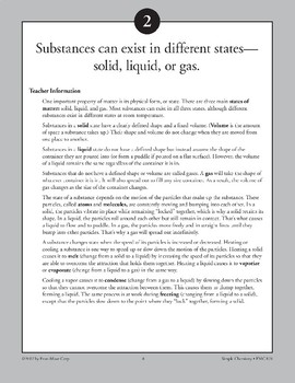 Substances Can Exist in Different States-Solid, Liquid, or Gas