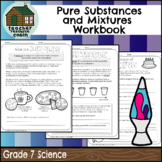 Pure Substances and Mixtures Workbook (Grade 7 Ontario Science)