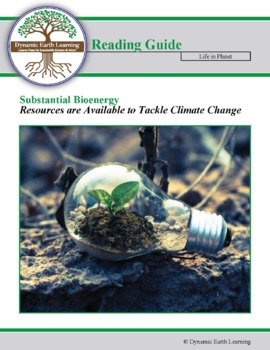Substantial Bio-energy Resources  and Climate Change