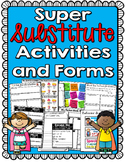 Substitute Activities and Forms