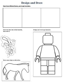 Substitute Art Sheet Design and Draw