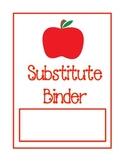 Substitute Binder - Apple Theme