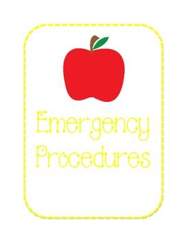 Substitute Binder - Apple Theme