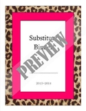 Substitute Binder Cover and Spine
