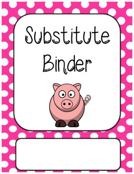 Substitute Binder Dividers