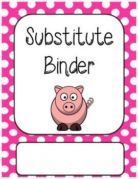 Substitute Binder Dividers