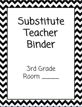 Substitute Binder *EDITABLE*