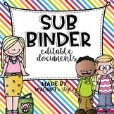 Substitute Binder Editable Documents