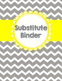 Substitute Binder {Editable}