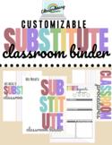 Substitute Binder   Editable Neutral Rainbow