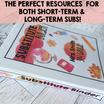 Substitute Binder Editable Watercolor