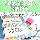 Sub Binder (EDITABLE)