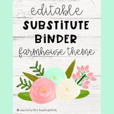 Substitute Binder {Editable forms!}