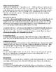 Substitute Binder Information Template