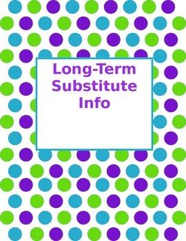 Substitute Binder / Long Term Sub Binder