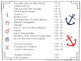 Editable Substitute Binder { Red Navy Nautical } The Ultimate Sub Binder Guide