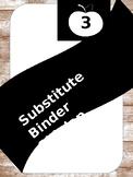Substitute Binder Pack (shiplap)