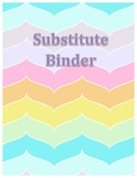 Editable Substitute Binder Pages