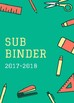 Substitute Binder- School Supplies