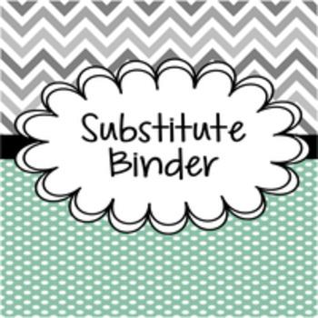 Substitute Binder Starter: Primary Grades