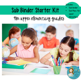 Substitute Binder Starter: Upper Elementary