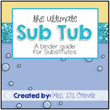 Substitute Binder - The Ultimate Substitute Teacher Binder Guide