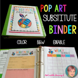 Substitute Binder and Emergency Lesson Plans