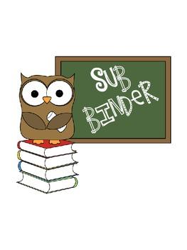 Substitute Binder/Emergency Plans