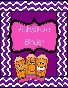 Substitute Binder/Plans