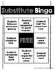 Substitute Bingo